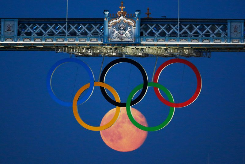 Luna plina olimpiada