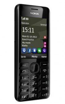 Telefon mobil Nokia 206 Dual SIM