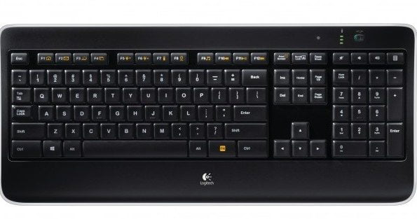Tastatura Logitech Wireless Illuminated Keyboard K800