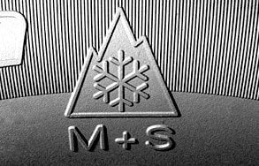 Simbol identificare anvelope de iarna