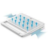"""Cooler Laptop DeepCool DP-N2200, 15.6"""", White"""