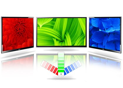 Functia Wide Color Enhancer Plus de la Samsung