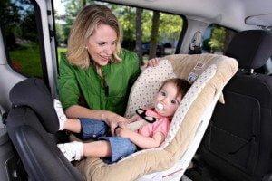 Scaun auto copii orientare catre spate