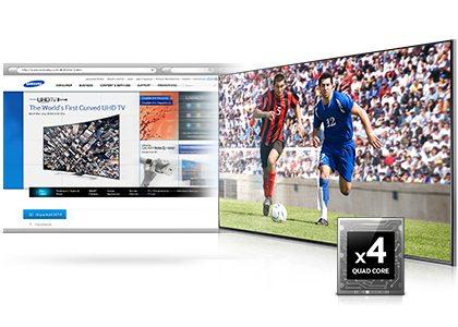 Smart TV procesor QuadCore