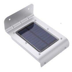 Lampa solara LED senzor de miscare si crepuscular