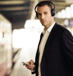 Casti wireless portabile telefon mobil