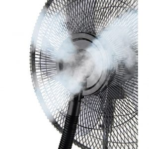 Ventilator cu pulverizator de apa