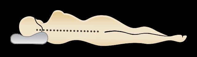Pozitia corecta a coloanei in timpul somnului