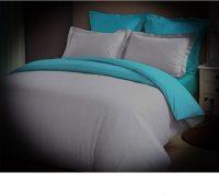 Lenjerie de pat Aglika, pentru 2 persoane, 100% bumbac