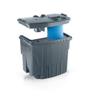 Dimensiuni rezervor aspirator filtrare cu apa