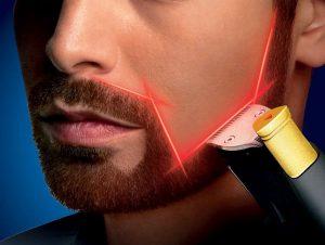 Aparat de tuns barba cu precizie mare