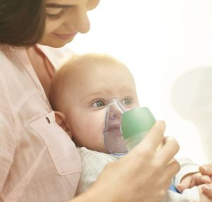Nebulizator aparat de aerosoli pentru bebelusi