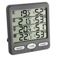 Statie meteo digitala Klima-Monitor TFA S 30.3054.10