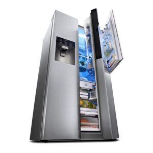 Cel mai bun frigider side by side