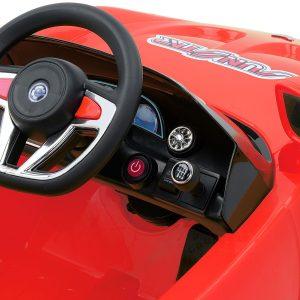 Masinuta electrica volan si schimbator de viteze