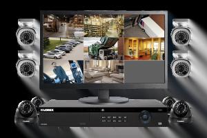 NVR HD sistem de monitorizare complet