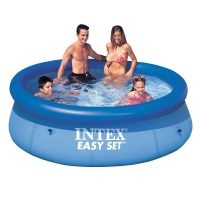 Piscina cu inel gonflabil Intex Easy Set Clearview 244x76 cm