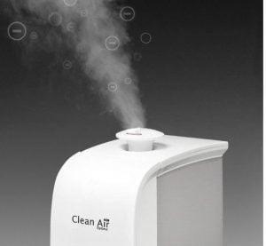 Umidificator de aer cu ionizare