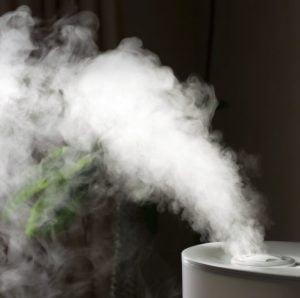 Umidificator si purificator de aer cu higrometru