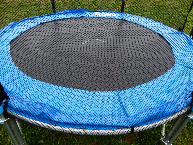 Trambulina Action One cu plasa de protectie exterioara, fara scara, 244 cm